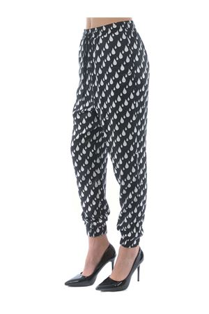 Pantaloni Love Moschino in viscosa MOSCHINO LOVE | 9 | WPA1800T089A-0007