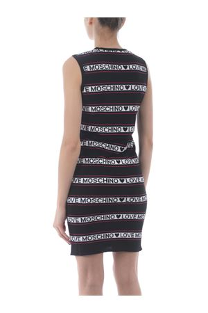 Love Moschino dress in viscose blend MOSCHINO LOVE | 11 | WS52R10X1422-C74