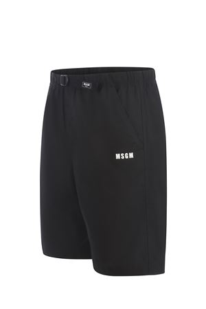 MSGM cotton shorts MSGM | 30 | 3040MB05X217104-99
