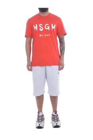 MSGM cotton fleece shorts MSGM | 30 | 3040MB61217099-01