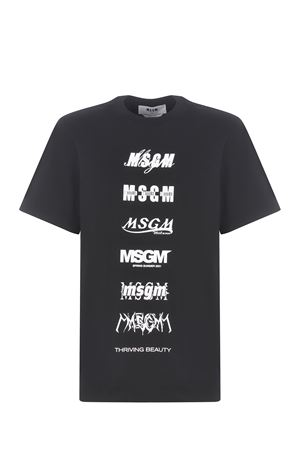 T-shirt MSGM in cotone MSGM | 8 | 3040MM103217098-99