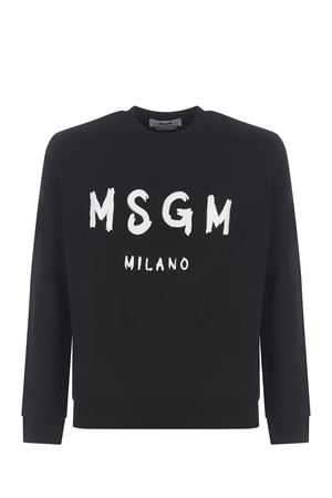 MSGM cotton sweatshirt MSGM | 10000005 | 3040MM104217099-99