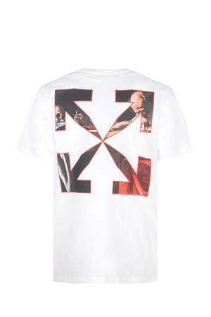 OFF-White Caravaggio cotton T-shirt OFF WHITE | 8 | OMAA027R21JER0040125
