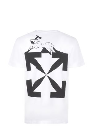 OFF-White World Caterpilla cotton T-shirt OFF WHITE | 8 | OMAA027R21JER0130110