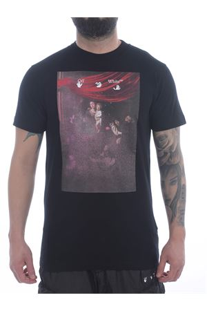 OFF-White Sprayed Caravaggio cotton T-shirt OFF WHITE | 8 | OMAA027S21JER0101001