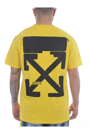 OFF-White Tech Marker cotton T-shirt OFF WHITE | 8 | OMAA038S21JER0081910