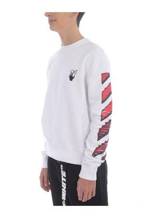 Felpa OFF-White Marker in cotone OFF WHITE | 10000005 | OMBA025R21FLE0040125