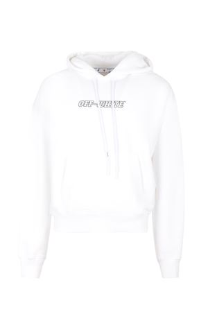 Felpa OFF-White Pascalin cotone OFF WHITE | 10000005 | OMBB037R21FLE0070131