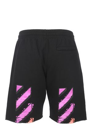 OFF-White Marker cotton shorts OFF WHITE | 30 | OMCI006R21FLE0021032