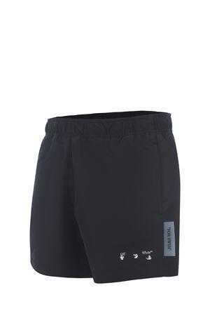 OFF-White nylon swim shorts OFF WHITE | 85 | OMFA003S21FAB0011001