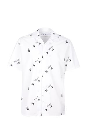 OFF-White cotton shirt  OFF WHITE | 6 | OMGA163R21FAB0010110