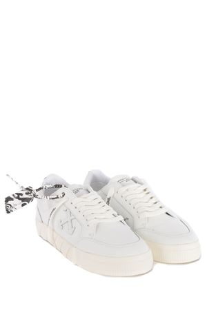 Sneakers OFF-White Low Vulcanized Leather in pelle OFF WHITE | 5032245 | OMIA085R21LEA0040101