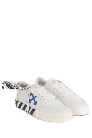 Sneakers OFF-White Low Vulcanized Calf in pelle OFF WHITE | 5032245 | OMIA085S21LEA0010145