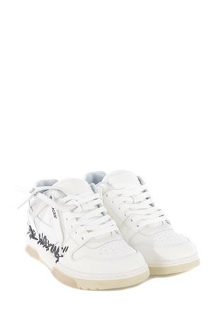 Sneakers OFF-White Out Of Office Walking Calf in pelle OFF WHITE | 5032245 | OMIA189S21LEA0040101