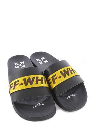 OFF-White Industrial Belt Slider rubber slippers OFF WHITE | 2092362282 | OMIC001R21MAT0021018