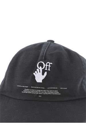 OFF-White Hand OFF cotton baseball cap OFF WHITE | 26 | OMLB022R21FAB0031001