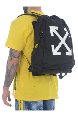 OFF-White nylon backpack Arrow Easy OFF WHITE | 10000008 | OMNB019R21FAB0011001