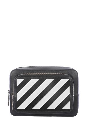 OFF-White Diag leather bag OFF WHITE | 31 | OMNO002R21LEA0011001