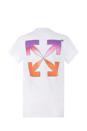 OFF-White Gradient Carryover cotton T-shirt OFF WHITE   8   OWAA040R21JER0010184
