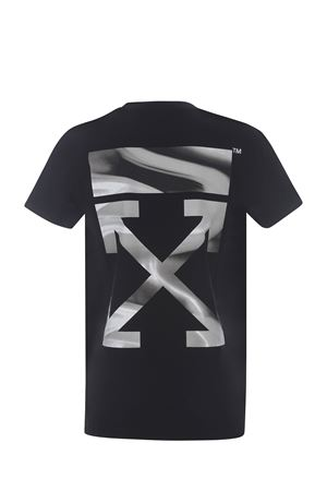 T-shirt OFF-White Arrow Liquid in cotone OFF WHITE | 8 | OWAA049R21JER0011009