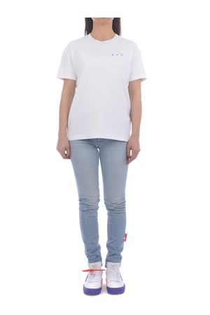 OFF-White Flowers Arrow cotton T-shirt OFF WHITE | 8 | OWAA089S21JER0010145