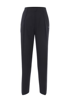 OFF-White Formal straight trousers in wool blend OFF WHITE | 9 | OWCA129S21FAB0011000