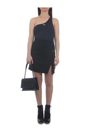 OFF-White Formal Mini Side Split short skirt in wool blend OFF WHITE | 15 | OWCC117S21FAB0011000