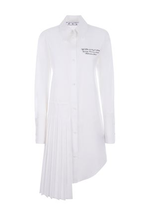 OFF-White Popeline cotton dress OFF WHITE | 11 | OWDB280R21FAB0010110