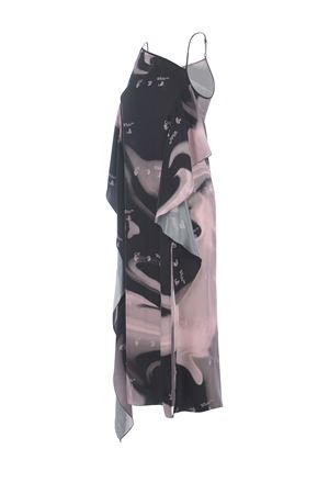 OFF-White Liquid Melt Waves dress in viscose twill OFF WHITE | 11 | OWDB302R21FAB0023110