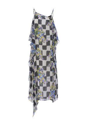 OFF-White Check Waves midi dress OFF WHITE | 11 | OWDB302S21FAB0021001