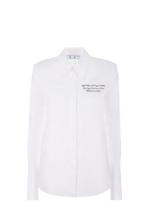 Camicia OFF-White Popeline in cotone OFF WHITE | 6 | OWGA090R21FAB0010110