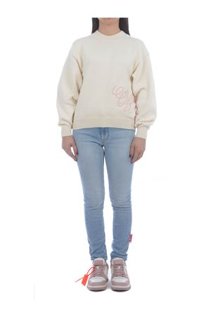 OFF-White cotton blend sweater OFF WHITE | 7 | OWHE036R21KNI0016131