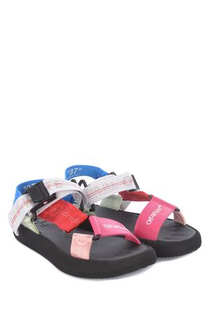 OFF-White Flatform Trek rubber sandals OFF WHITE | 5032249 | OWIH007R21FAB0018400