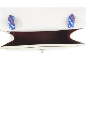 Borsa OFF-White Gummy Jitney 1.4 in pelle OFF WHITE | 31 | OWNA092R21LEA0060300