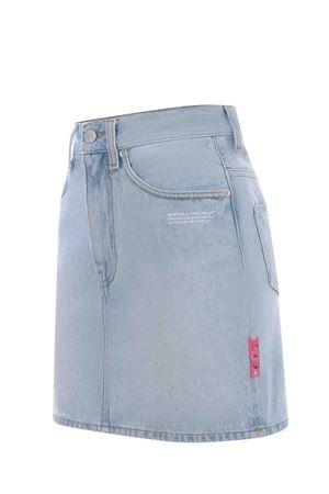 OFF-White denim miniskirt  OFF WHITE | 15 | OWYF005R21DEN0014000