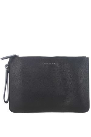 Orciani leather clutch bag ORCIANI | 62 | SU0096MIC-NERO