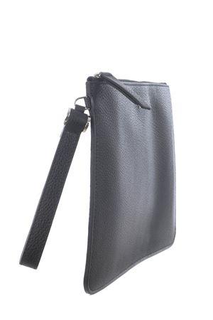 Orciani leather clutch bag ORCIANI | 62 | SU0096MIC-NERO