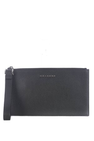 Orciani micron deep leather clutch ORCIANI | 62 | SU0097MIC-NERO
