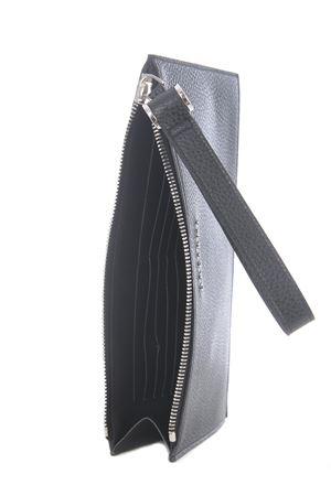 Orciani micron deep leather clutch ORCIANI | 62 | SU0097MIC-NERO