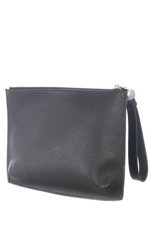 Orciani leather clutch bag ORCIANI | 62 | SU0103MIC-NERO