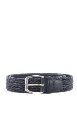 Cintura Orciani in cuoio intrecciato ORCIANI | 22 | U07187WID-BLU