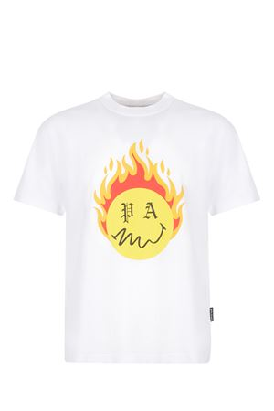 Palm Angels Burning head cotton t-shirt PALM ANGELS | 8 | PMAA001R21JER0040118