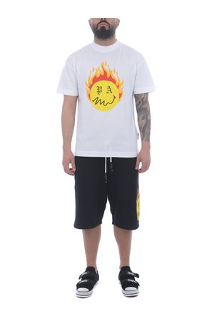 T-shirt Palm Angels Burning head in cotone PALM ANGELS | 8 | PMAA001R21JER0040118