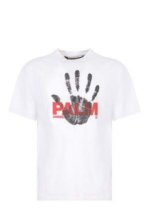 Palm Angels Imprint cotton T-shirt PALM ANGELS | 8 | PMAA001S21JER0100125