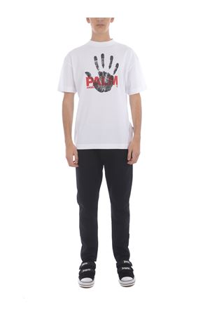 T-shirt Palm Angels Imprint in cotone PALM ANGELS | 8 | PMAA001S21JER0100125