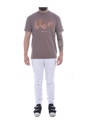 T-shirt Palm Angels gd pa bear in cotone PALM ANGELS | 8 | PMAA001S21JER0163901