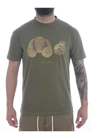 T-shirt Palm Angels gd pa bear in cotone PALM ANGELS | 8 | PMAA001S21JER0165601