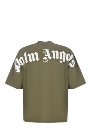 T-shirt Palm Angels Classic Logo Over in cotone PALM ANGELS | 8 | PMAA002S21JER0035601