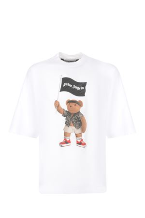 Palm Angels Pirate Bear Loose cotton T-shirt PALM ANGELS | 8 | PMAA041S21JER0060101