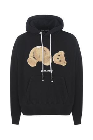 Felpa Palm Angels Bear Hoody in cotone PALM ANGELS | 10000005 | PMBB058R21FLE0011060